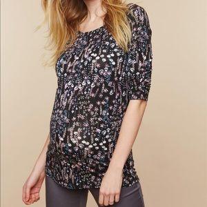 Maternity long sleeve shirt